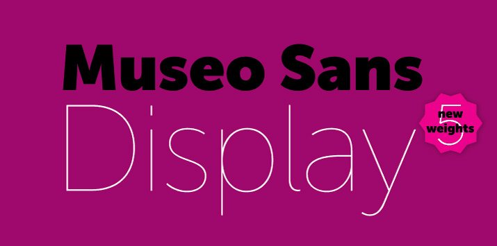 museo-sans What Is a Font License? (And Do I Need One?) design tips  Typography|business|design