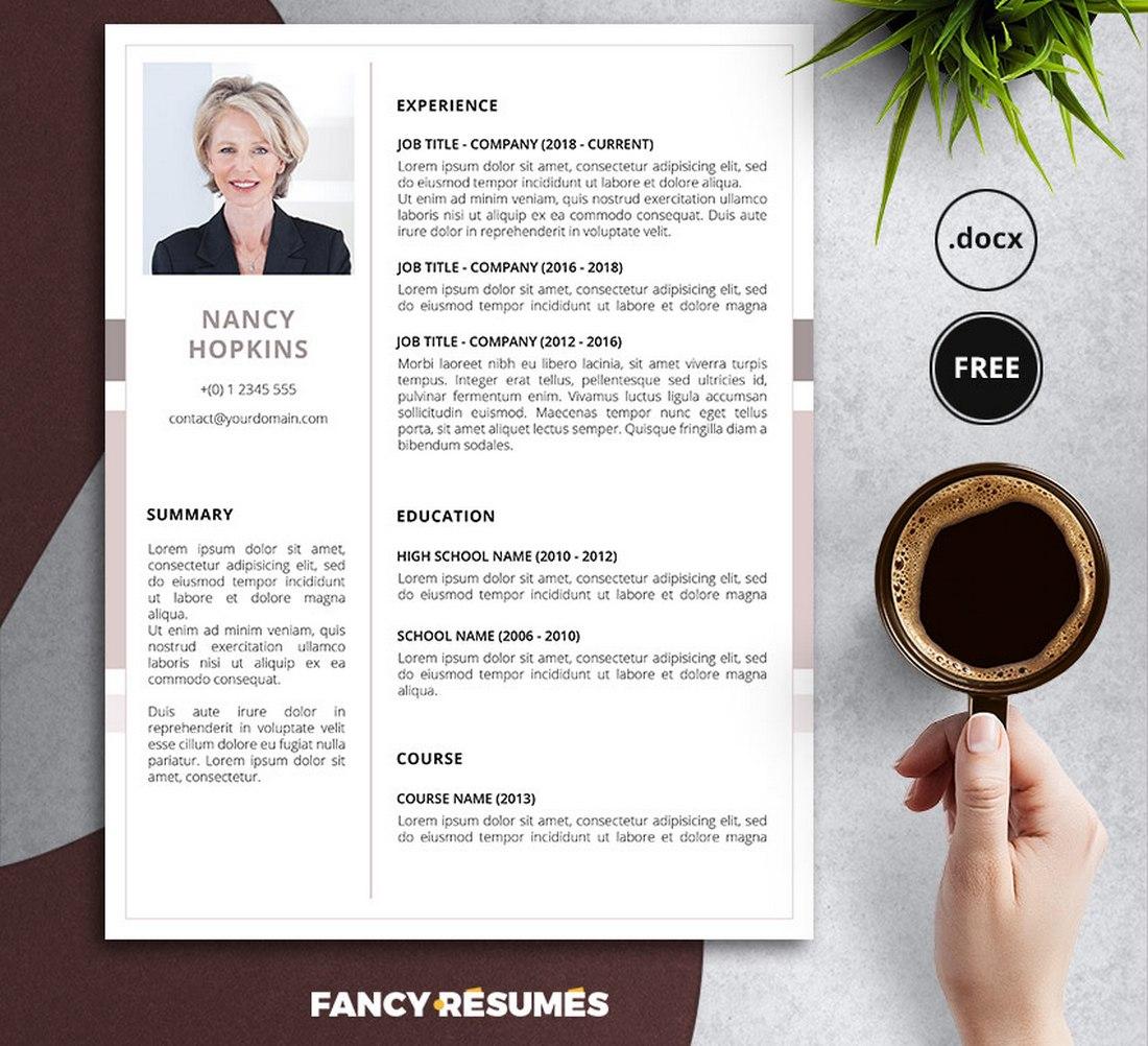 nancy-resume-template
