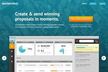 Quote Robot 2: Creating Impressive Client Proposals Just Got Even Easier