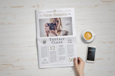 20+ Newspaper Mockup Templates (Free & Pro)