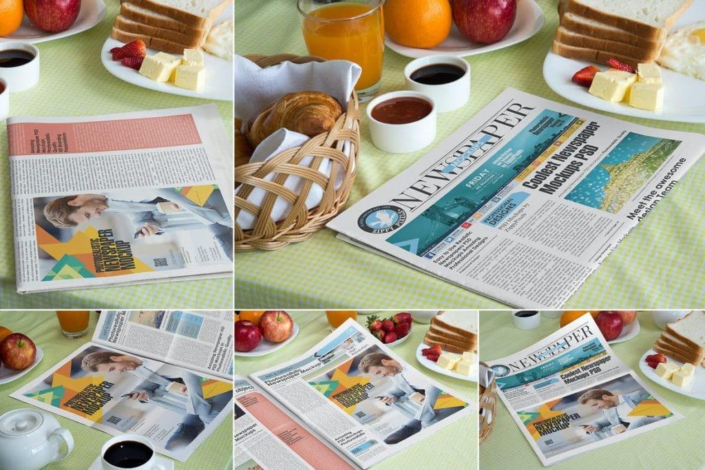 newspaper-mockups-1-1024x683 20+ Newspaper Mockup Templates (Free & Pro) design tips