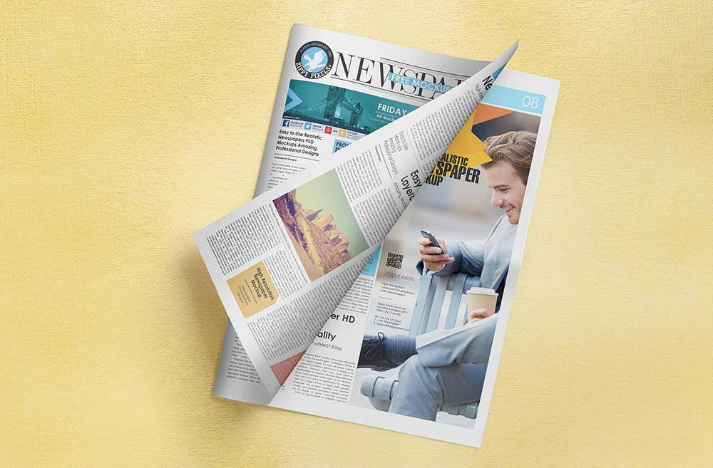 newspaper-mockups-13 20+ Newspaper Mockup Templates (Free & Pro) design tips