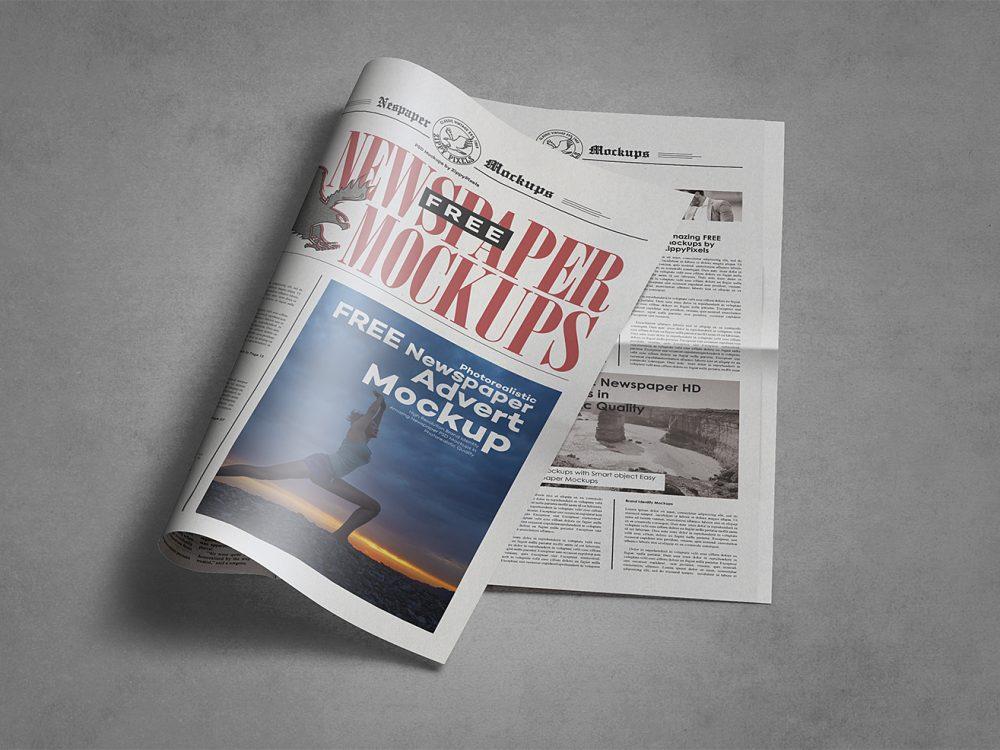 newspaper-mockups-16 20+ Newspaper Mockup Templates (Free & Pro) design tips