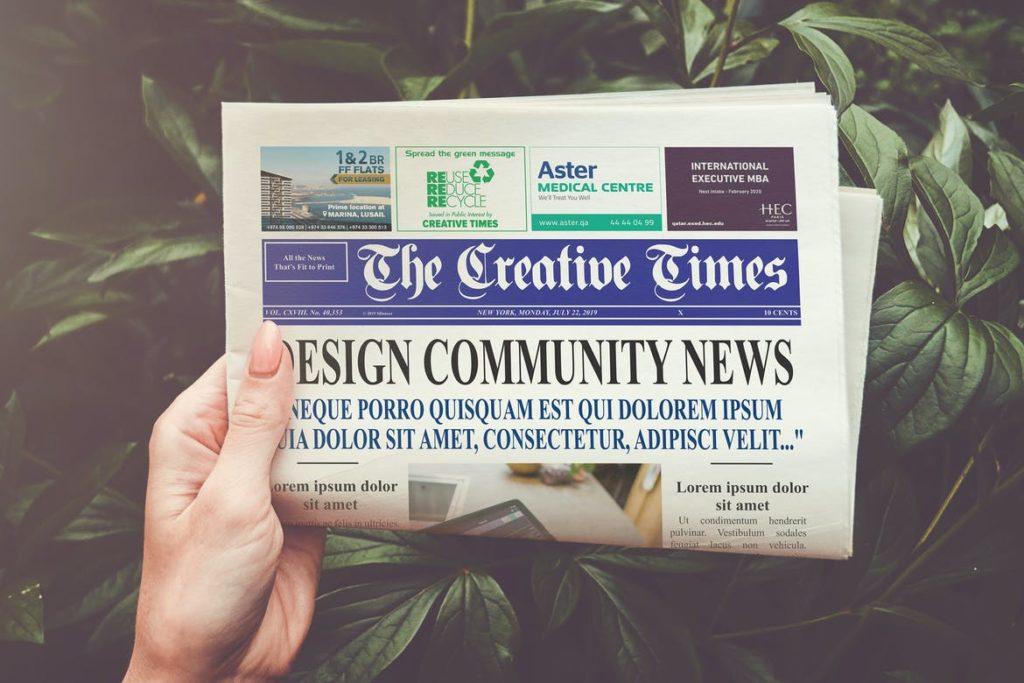 newspaper-mockups-2-1024x683 20+ Newspaper Mockup Templates (Free & Pro) design tips