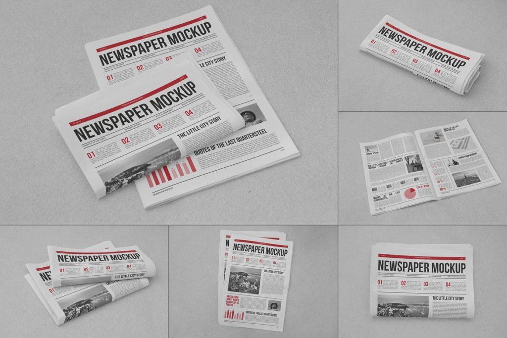 newspaper-mockups-4-1024x683 20+ Newspaper Mockup Templates (Free & Pro) design tips