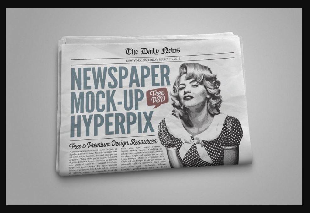 newspaper-mockups-6 20+ Newspaper Mockup Templates (Free & Pro) design tips