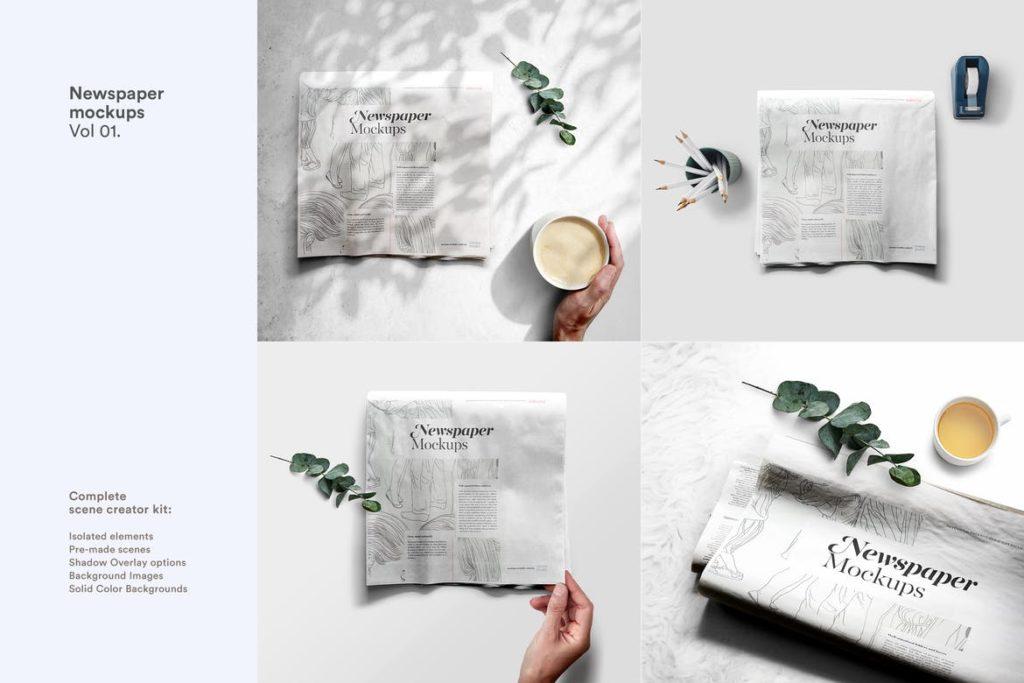 newspaper-mockups-7-1024x683 20+ Newspaper Mockup Templates (Free & Pro) design tips