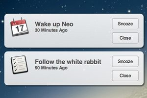 Code a Mountain Lion Style Notification Window With CSS