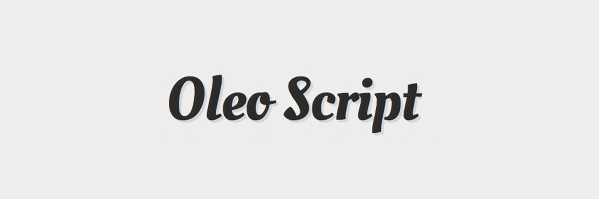 A Nice Thick Script With Good Readability And Interesting Letter Shapes Perfect For Headlines