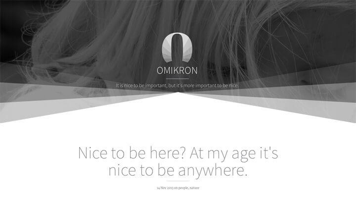 omikron-minimal-responsive-bootstrap-ghost-theme