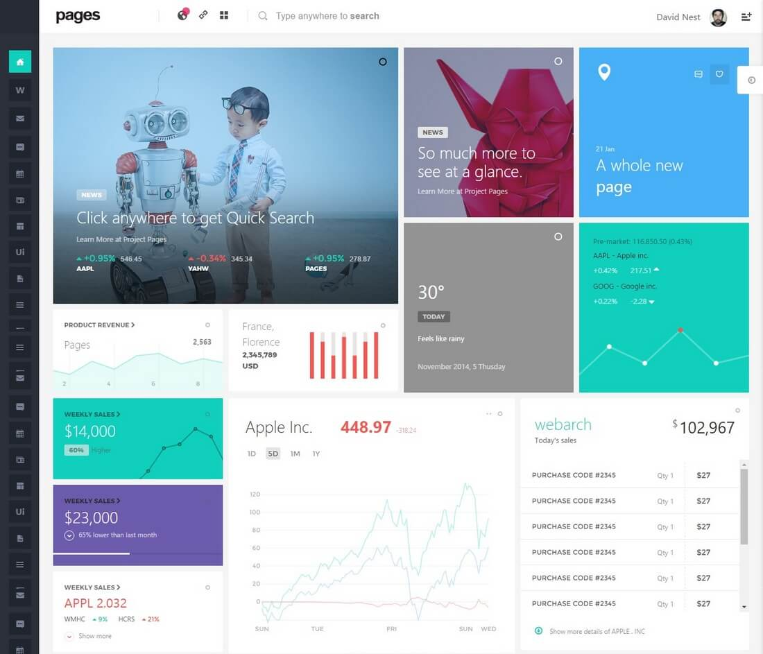 pages 40+ Best Bootstrap Admin Templates of 2019 design tips
