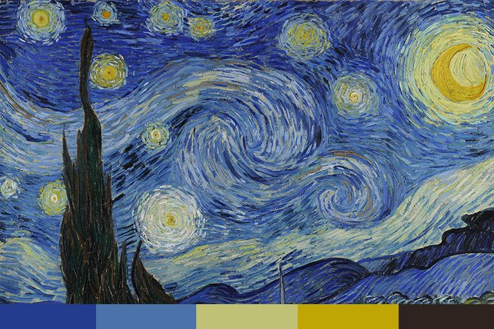 10 Free Color Palettes From 10 Famous Paintings