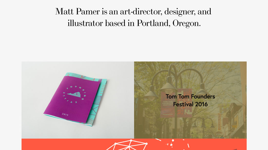 pamer 20+ Portfolio Design Trends in 2020 design tips