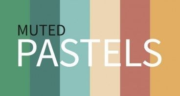 Current Color Trends: Muted Pastels