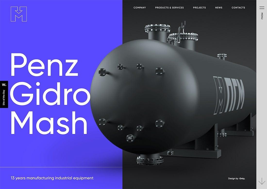 penz Design Trend: 3D Geometry design tips  Trends|trends|web design