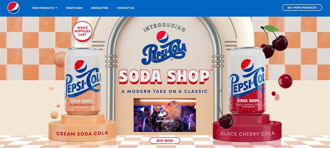 pepsi-1 7 Ways Your UX Needs to Extend Beyond Your Website (And How to Do It) design tips
