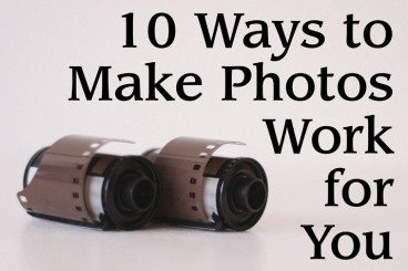 10 Ways to Make Photos Work in Your Designs