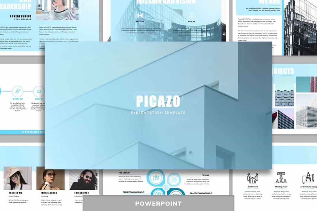 picazo 20 Stylish PowerPoint Color Schemes design tips