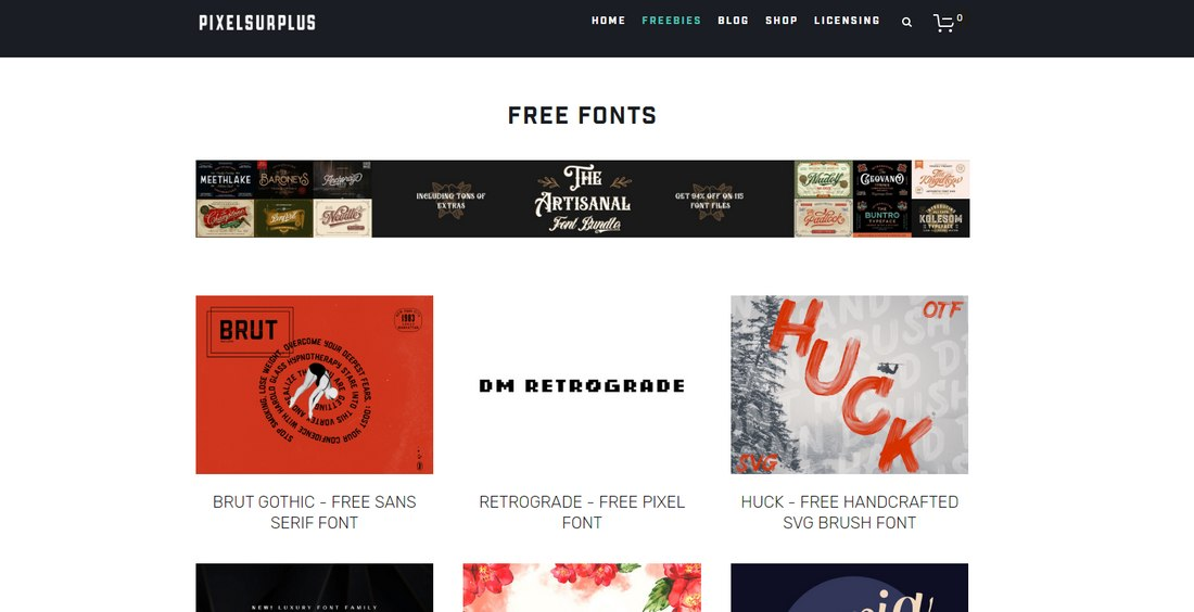 pixelsurplus 10+ Best Places to Find Free Fonts design tips  Inspiration|Typography|fonts|free