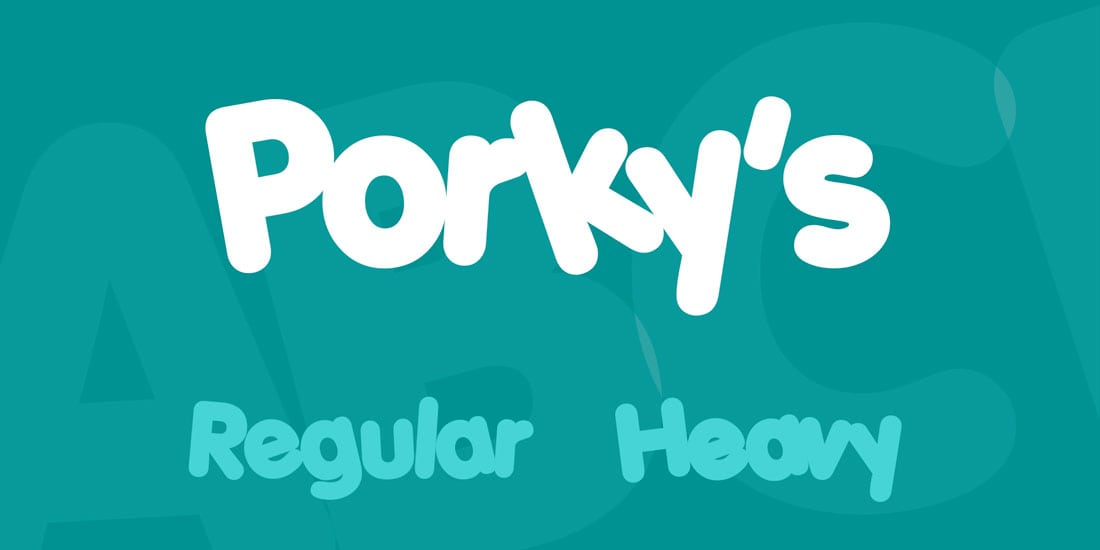 porkys 80s Fonts: A Retro Typographic Trend (+ Examples) design tips