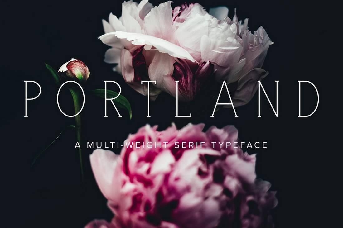portland-serif-cover- 100+ Best Modern Serif Fonts design tips