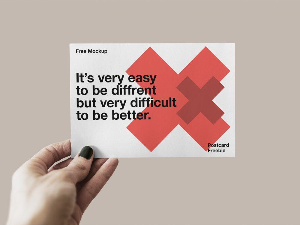 postcard-mockups-11 20+ Postcard Mockup Templates (Free & Pro) design tips