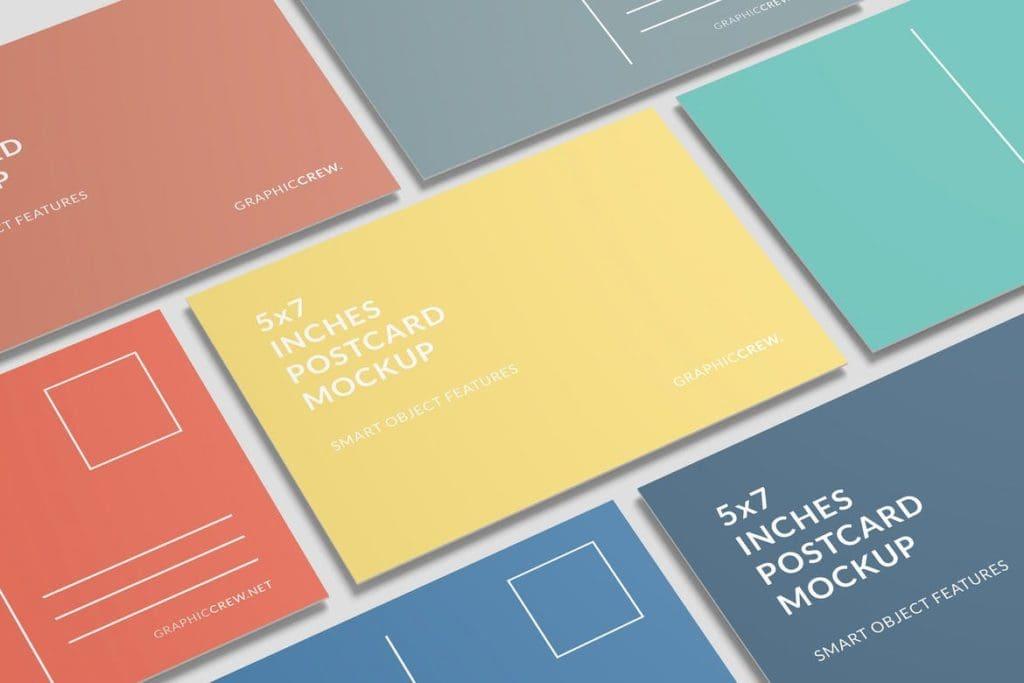 postcard-mockups-17-1024x683 20+ Postcard Mockup Templates (Free & Pro) design tips