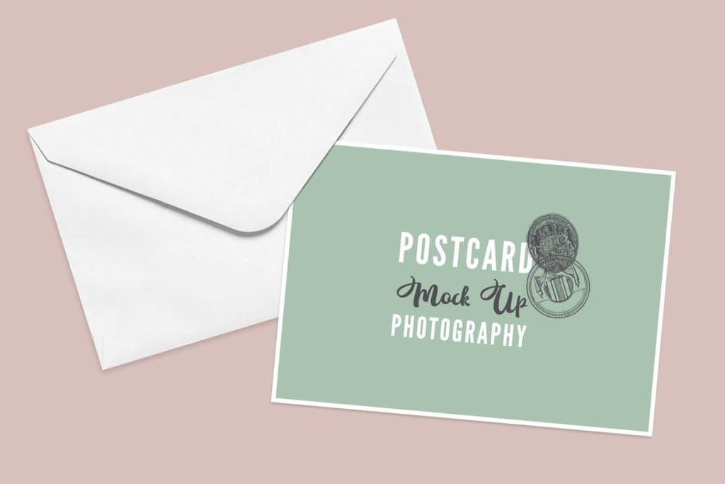 postcard-mockups-6-1024x683 20+ Postcard Mockup Templates (Free & Pro) design tips