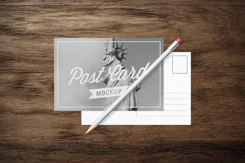 postcard-mockups-7-1024x683 20+ Postcard Mockup Templates (Free & Pro) design tips