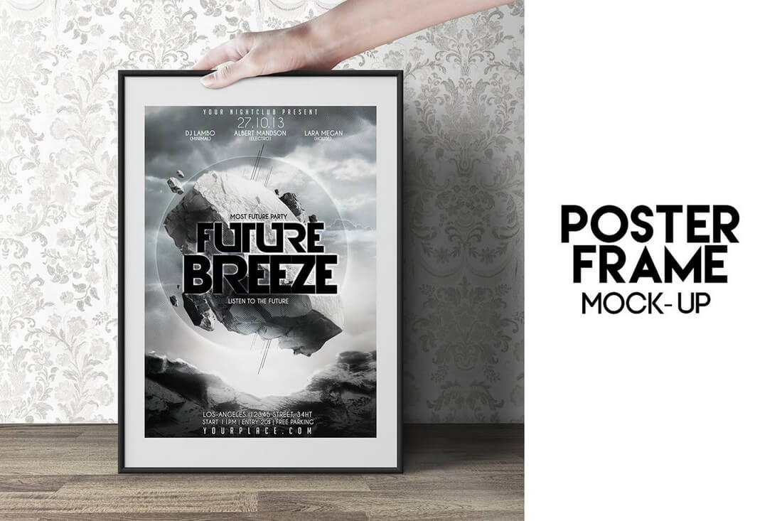 poster-frame-mock-up- 30+ Best Poster Mockup Templates 2021 design tips