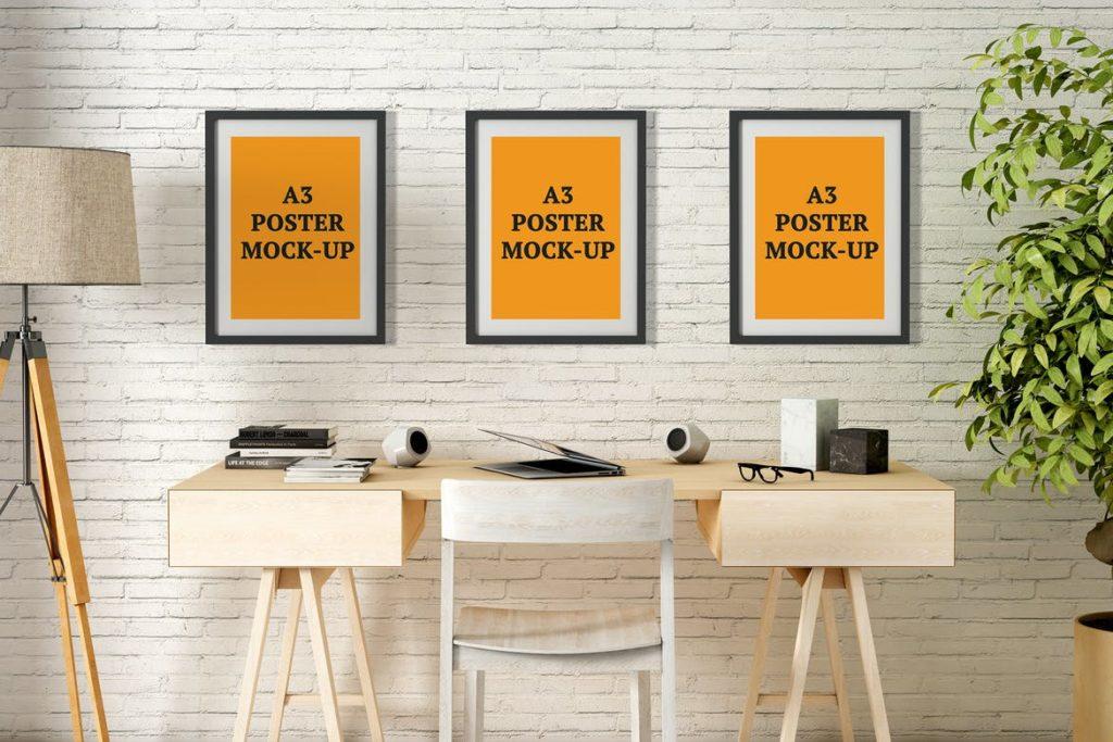 poster-mockups-11-1024x683 20+ Poster Mockup Templates (Free & Premium) design tips