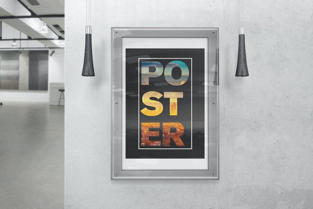 poster-mockups-7-1024x683 20+ Poster Mockup Templates (Free & Premium) design tips
