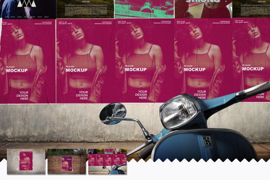 poster-mockups-9-1024x683 20+ Poster Mockup Templates (Free & Premium) design tips