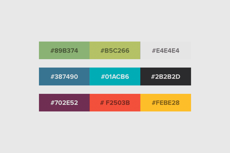 20 Stylish Powerpoint Color Schemes Design Shack
