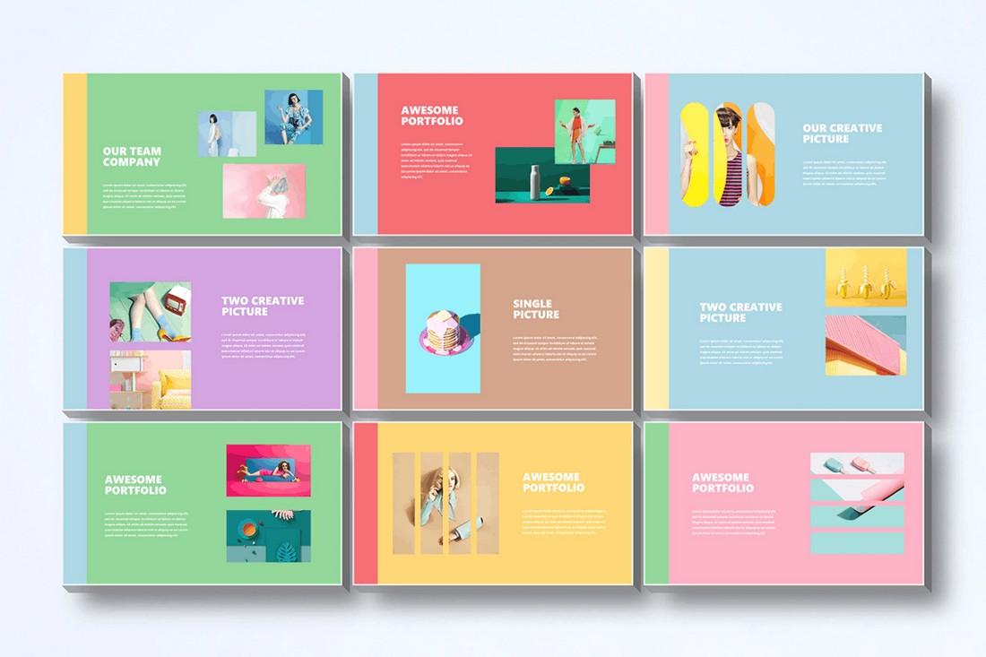 powerpoint pastel colors