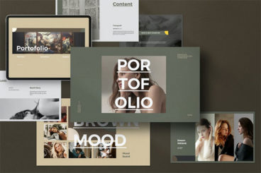 25+ Best PowerPoint Portfolio Templates 2020