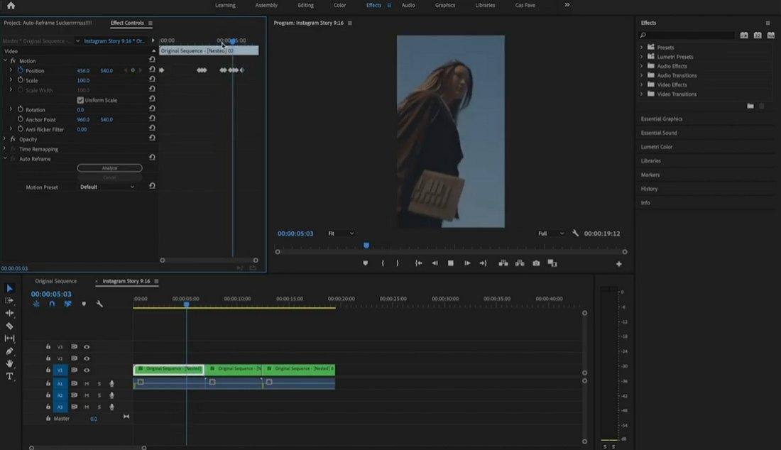 premiere-pro-2 5 Best iMovie Alternatives (For Mac & Windows) 2021 design tips