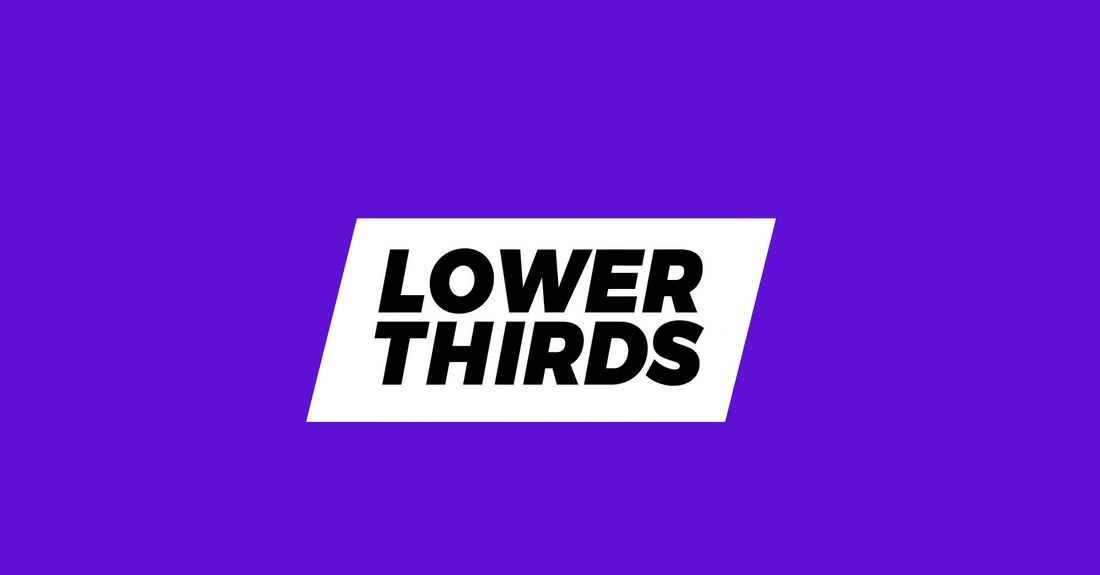 premiere pro lower thirds example 1