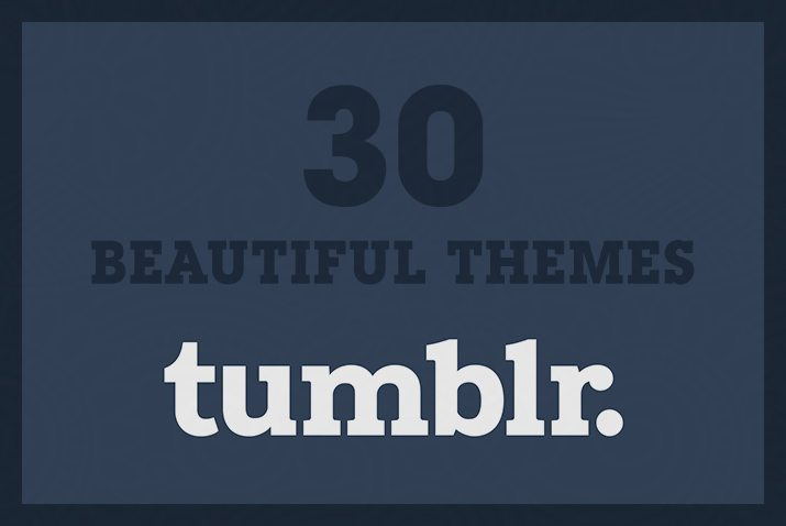 Tumblr Themes with Minimal Design