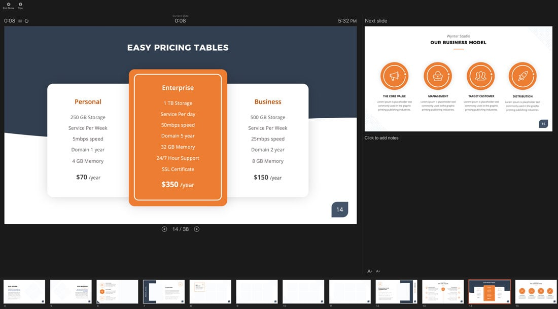 pres-mode How to Narrate a PowerPoint Presentation (And Record Your Voice) design tips  Software