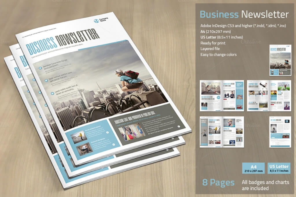 printed newsletter designs