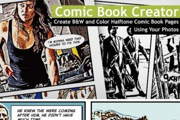 The Comic Book Creator: 100 Layouts for $10
