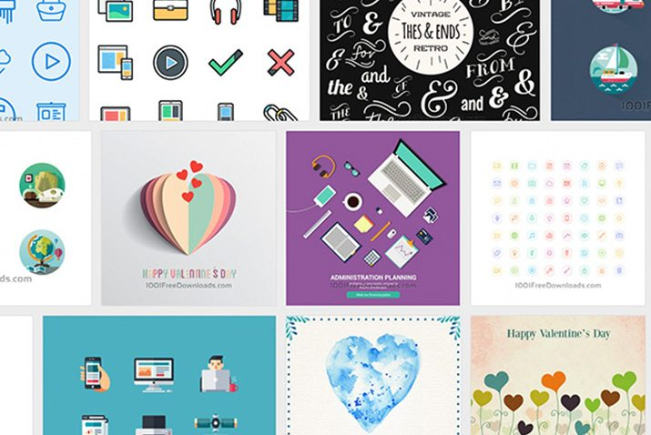 Handy Graphic & Vector Freebies From 1001FreeDownloads