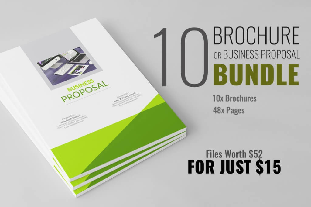 Brochure Or Business Proposal Bundle  Proposal Layouts