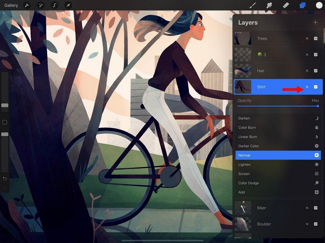 procreate-blend-modes 5 Procreate Tips for Pro iPad Design design tips