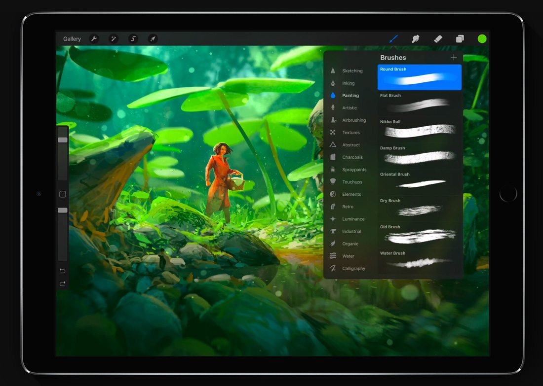 procreate-brushes-2 Procreate vs. Photoshop: Should You Make the Switch? design tips  Graphics|Software|photoshop|procreate