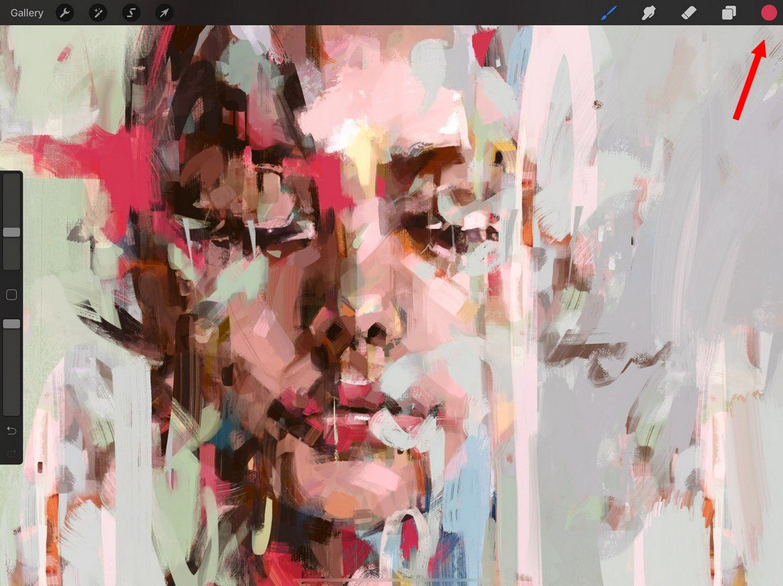 procreate-colordrop 5 Procreate Tips for Pro iPad Design design tips