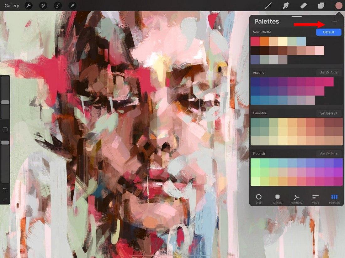 procreate-palettes-2 5 Procreate Tips for Pro iPad Design design tips