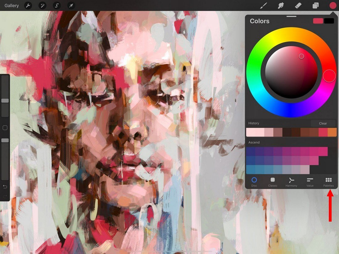 procreate-palettes 5 Procreate Tips for Pro iPad Design design tips