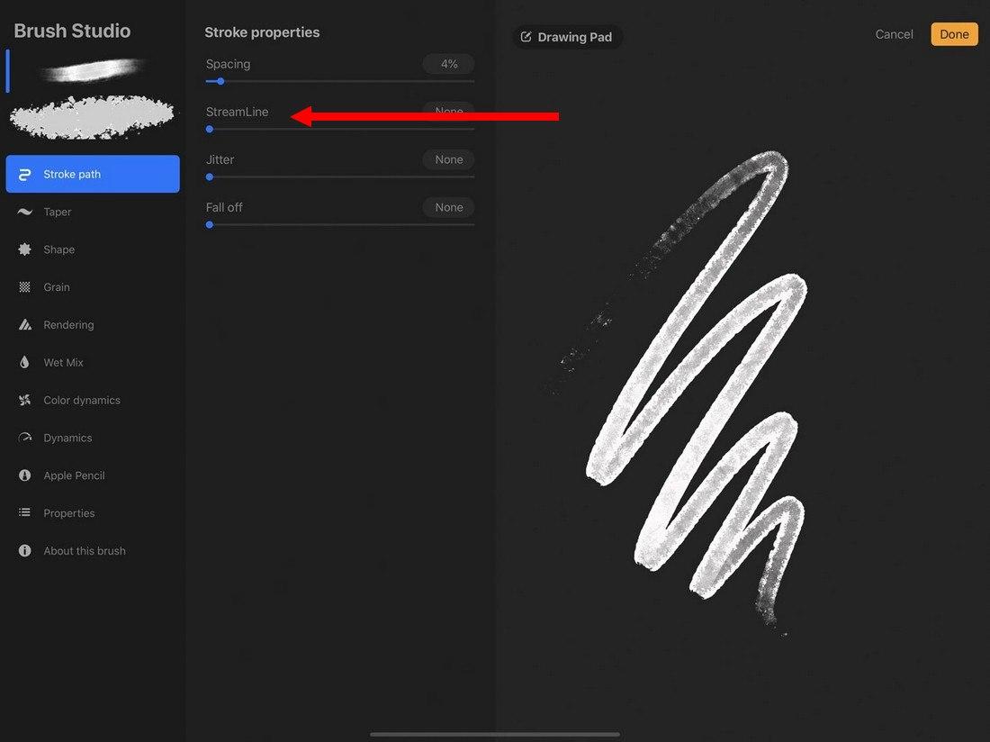 procreate-streamline 5 Procreate Tips for Pro iPad Design design tips